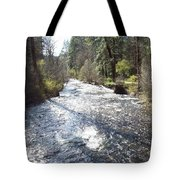 River Runs Through It Tote Bag