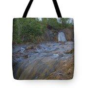 River Rushing Through Tote Bag