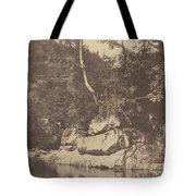 River Scene Tote Bag