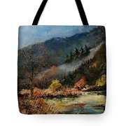 River Semois Tote Bag