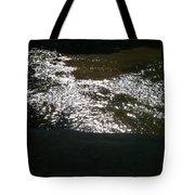 River Shimmer Tote Bag