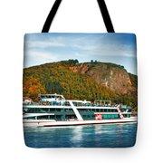 River Ship Tote Bag