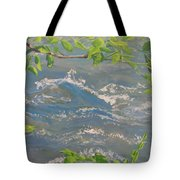 River Spring Tote Bag