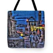 River Street Blues Tote Bag