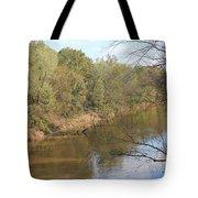 River Sun Tote Bag