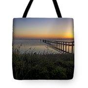 River Sunsrise - Florida Sunrise Scenic Tote Bag