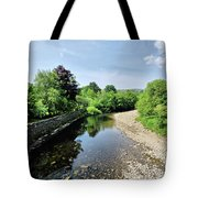River Swale, Grinton Tote Bag
