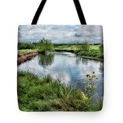 River Tame, Rspb Middleton, North Tote Bag