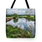 River Tame, Rspb Middleton, North Tote Bag