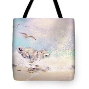River Tease Tote Bag