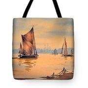 River Thames At Greenwich London Tote Bag