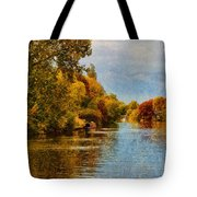 River Thames At Staines Tote Bag
