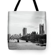 River Thames, London Tote Bag