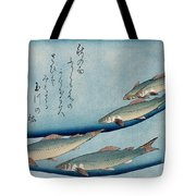 River Trout Tote Bag