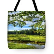 River Under The Maple Tree Tote Bag