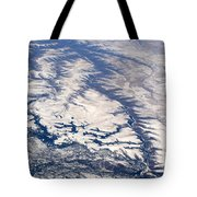 River Valley Aerial Tote Bag