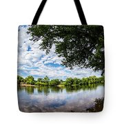 River View At Cartersville 1878ta Tote Bag