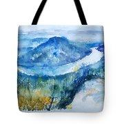 River View Landscape Tote Bag