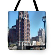 River Walk View Photo Tote Bag