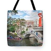 River Walk View San Antonio Tote Bag