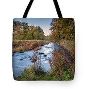 River Wansbeck At Wallington Tote Bag