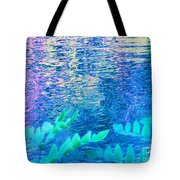 Distractions From The River Waters Tote Bag
