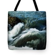 River With Rapids Tote Bag
