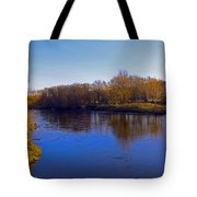 River Wye,herefordshire Uk Tote Bag