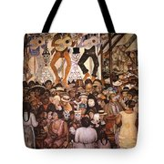 Rivera: Day Of The Dead Tote Bag