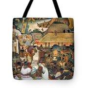 Rivera: Pre-columbian Life Tote Bag