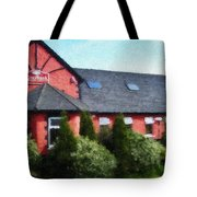 Riverbank Restaurant Riverstown Ireland Tote Bag