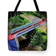 Riverboat Landing At Sacajawea Park Tote Bag