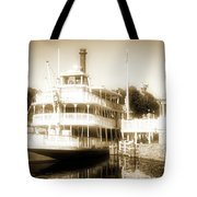 Riverboat, Liberty Square, Walt Disney World Tote Bag