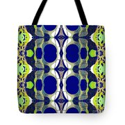 Riverdale Blue Green Tote Bag