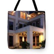 Riverfront Architecture Tote Bag