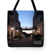 Riverfront At Twilight Tote Bag