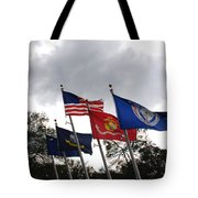 Riverfront Park In Charleston Sc Tote Bag