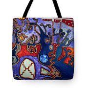 Rivers Of Arcturian Emination Tote Bag