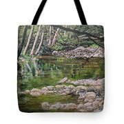 Rivers Of The Big Sur Tote Bag