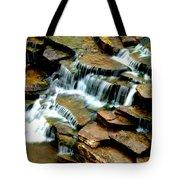 Riverside Place Falls  Tote Bag