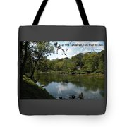Riverside Reflection Tote Bag
