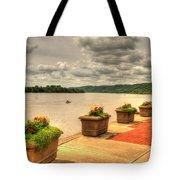 Riverside Walk Tote Bag