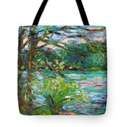 Riverview Spring Stage One Tote Bag