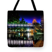 Riverwalk Bridge Tote Bag