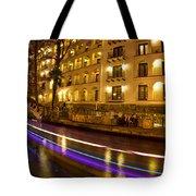 La Mansion Del Rio Riverwalk Christmas Tote Bag