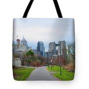 Riverwalk - Philadelphia Tote Bag