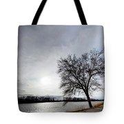 Riverwalk Tree Tote Bag