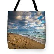 Riviera Beach Sunrise Tote Bag