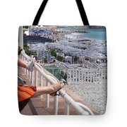 Riviera Breeze Tote Bag