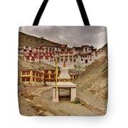 Rizong Monastery Ladakh Jammu And Kashmir India Tote Bag